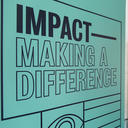 Impact making a difference sign