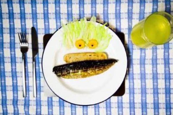 feeding oily fish